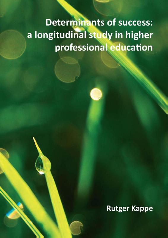 Determinants of success: a longitudinal study in higher professional education