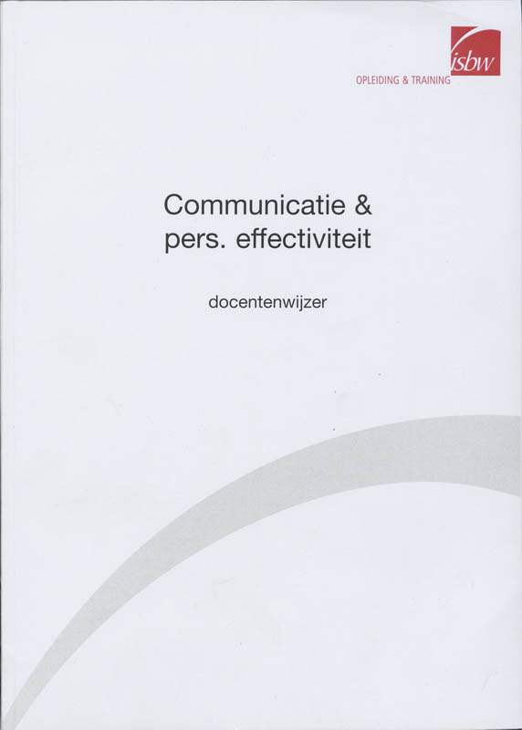 Communicatie & pers. effectiviteit
