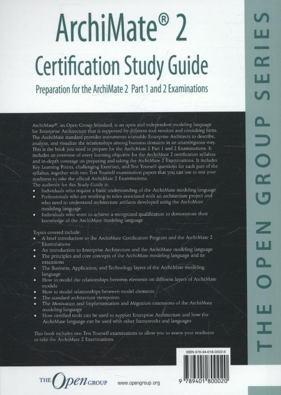 ArchiMate 2 certification image