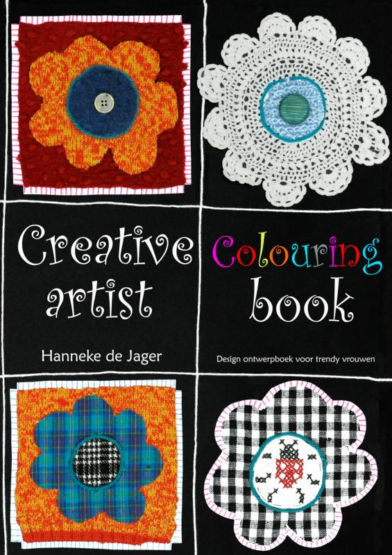 Creative Colouring Artist Book
