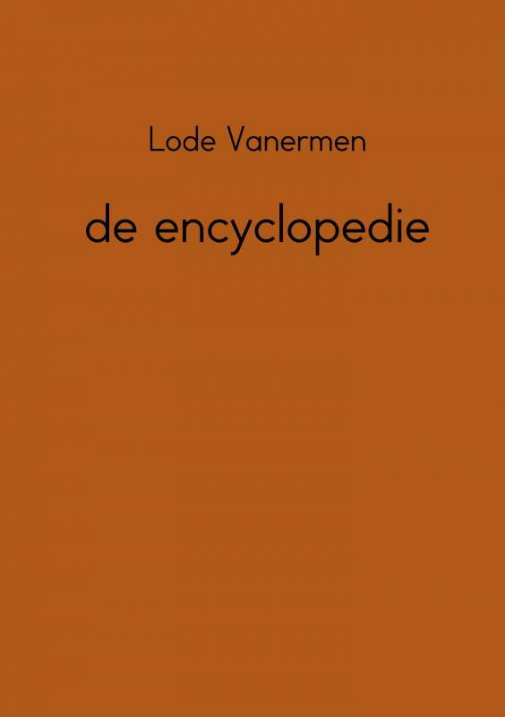 De encyclopedie