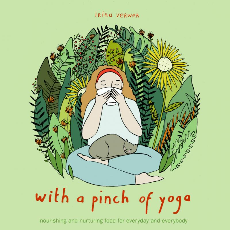 With a pinch of yoga