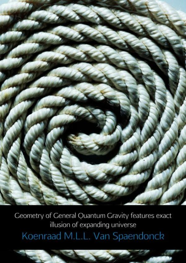 Geometry of General Quantum Gravity features exact illusion of expanding universe