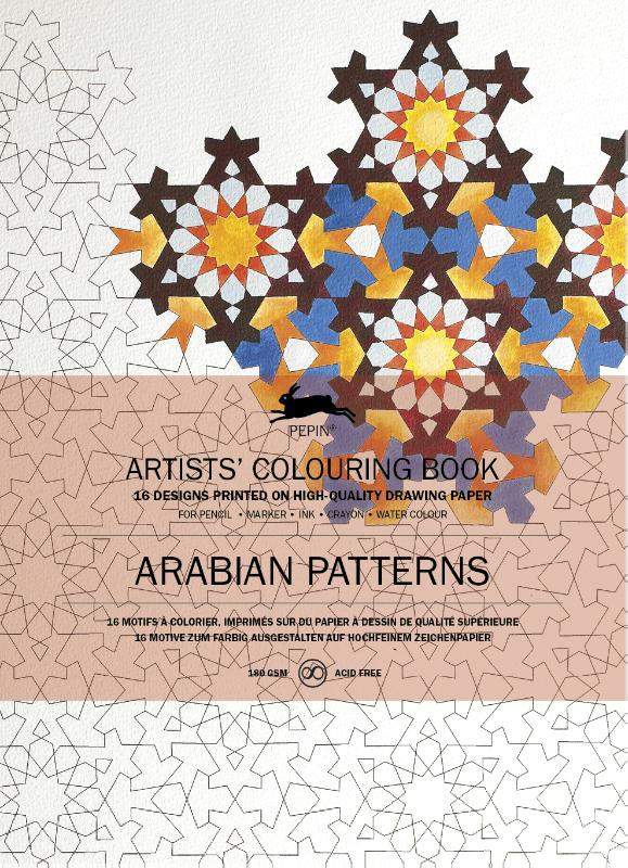 Artists colouring book