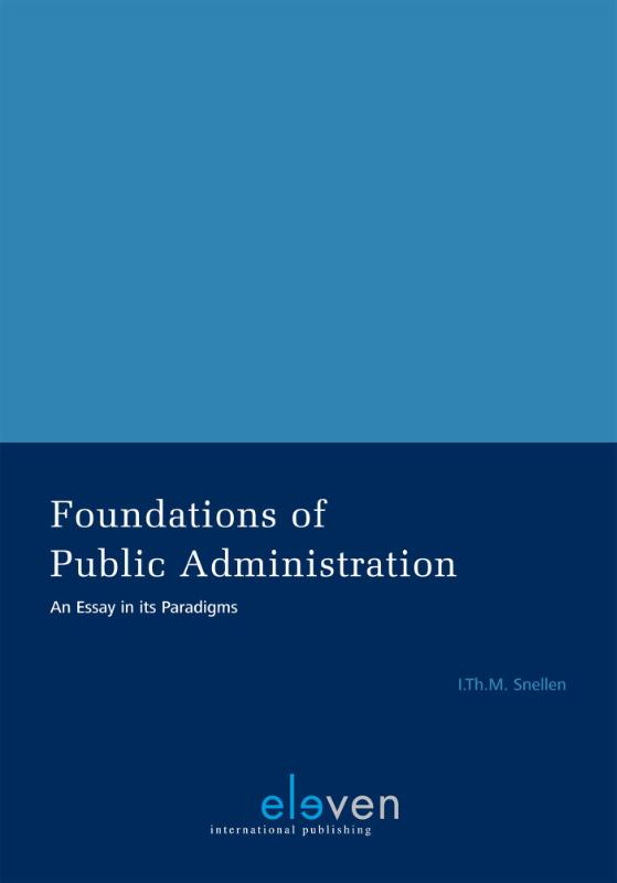 Foundations of public Administration