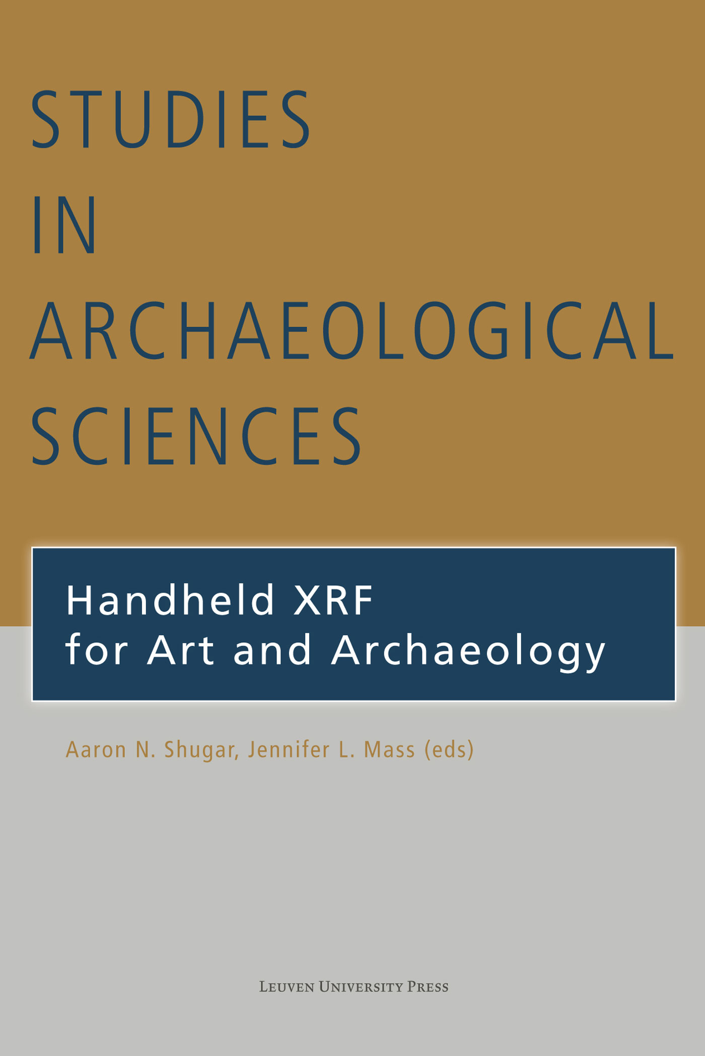 Handheld XRF for art and archaeology