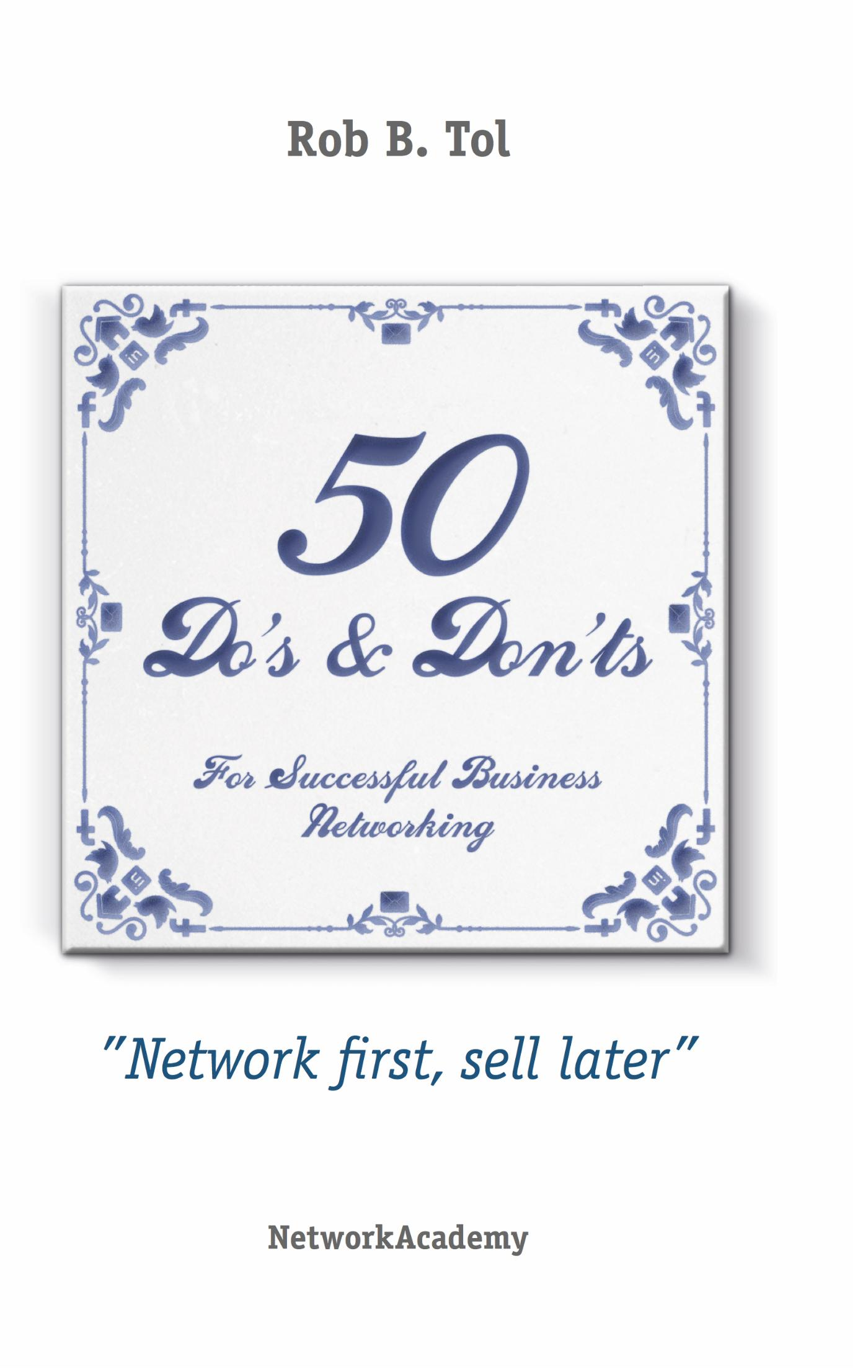 50 Do's & Don'ts for successful business networking