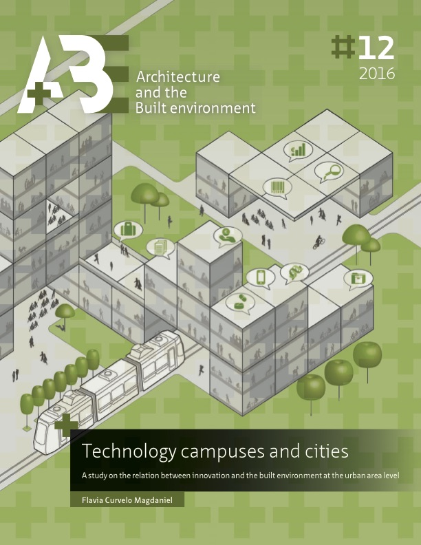 A study on the relation between innovation and the built environment at the urban area level