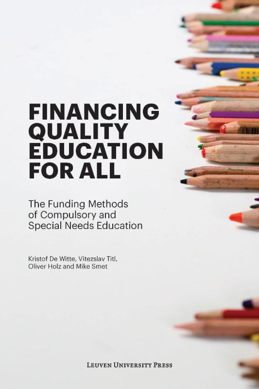 Financing Quality Education for All