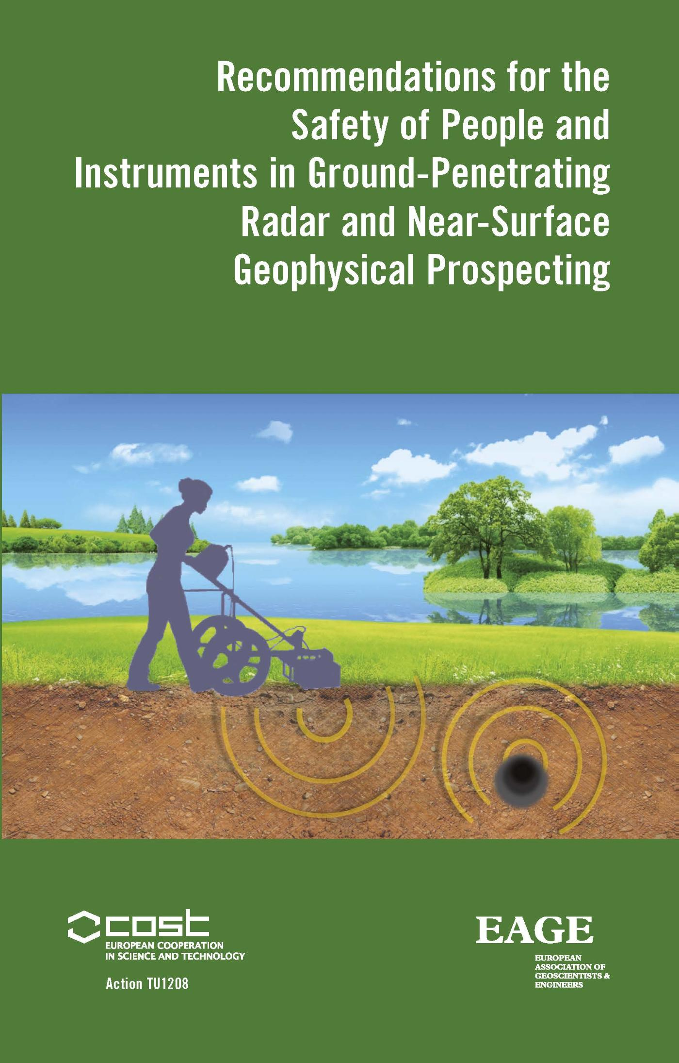 Recommendations for the safety of people and instruments in ground-penetrating radar and near-surface geophysical prospecting