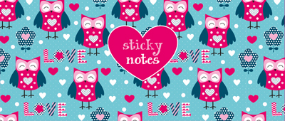 Sticky notes box Uilen