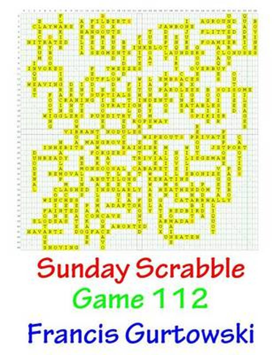 Sunday Scrabble Game 112