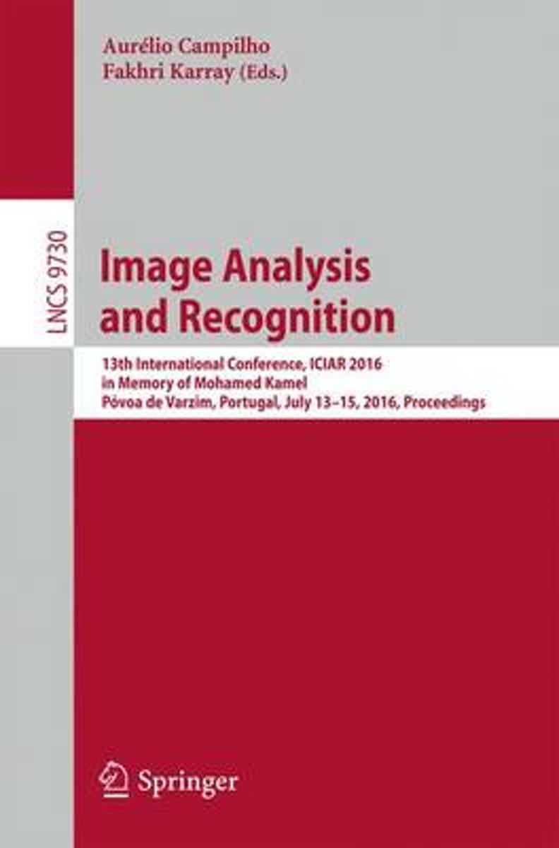 Image Analysis and Recognition image