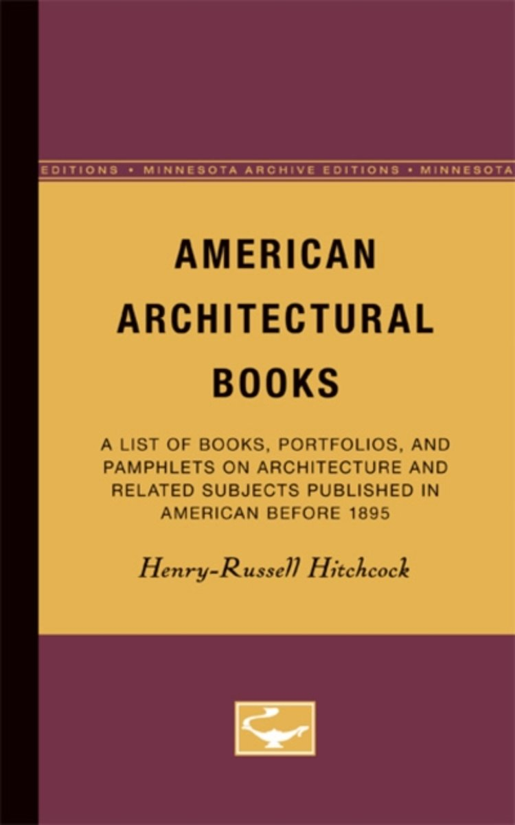 American Architectural Books