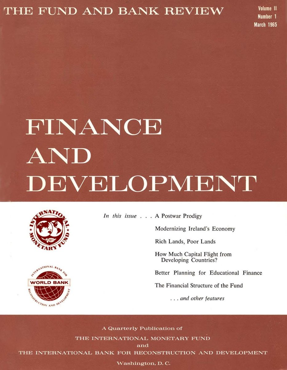 Finance & Development, March 1965