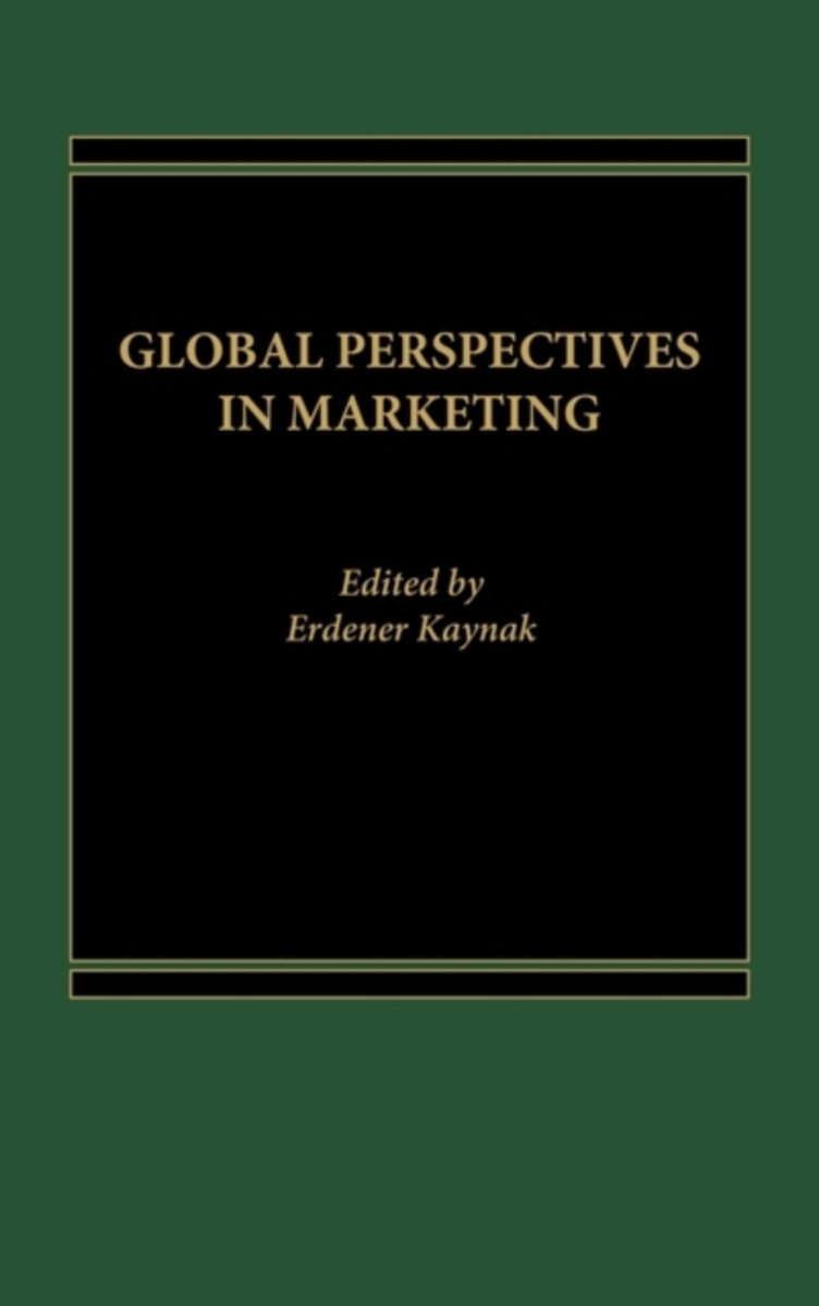 Global Perspectives in Marketing