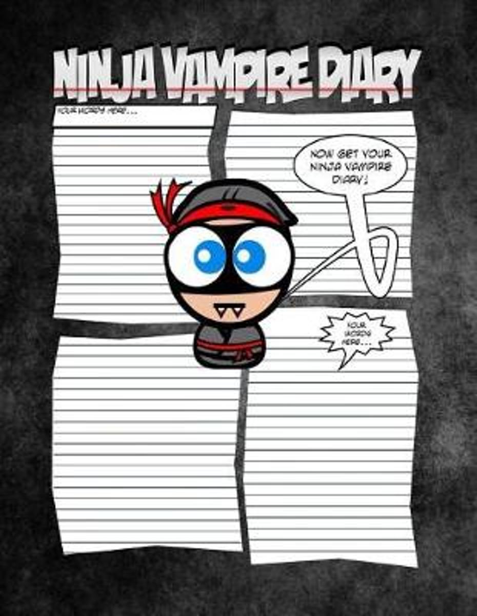 Ninja Vampire Diary - A Spooktaculous Place to Keep Your Secrets
