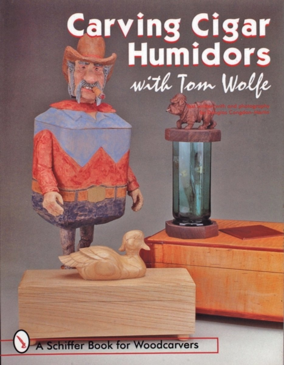 Carving Cigar Humidors with Tom Wolfe