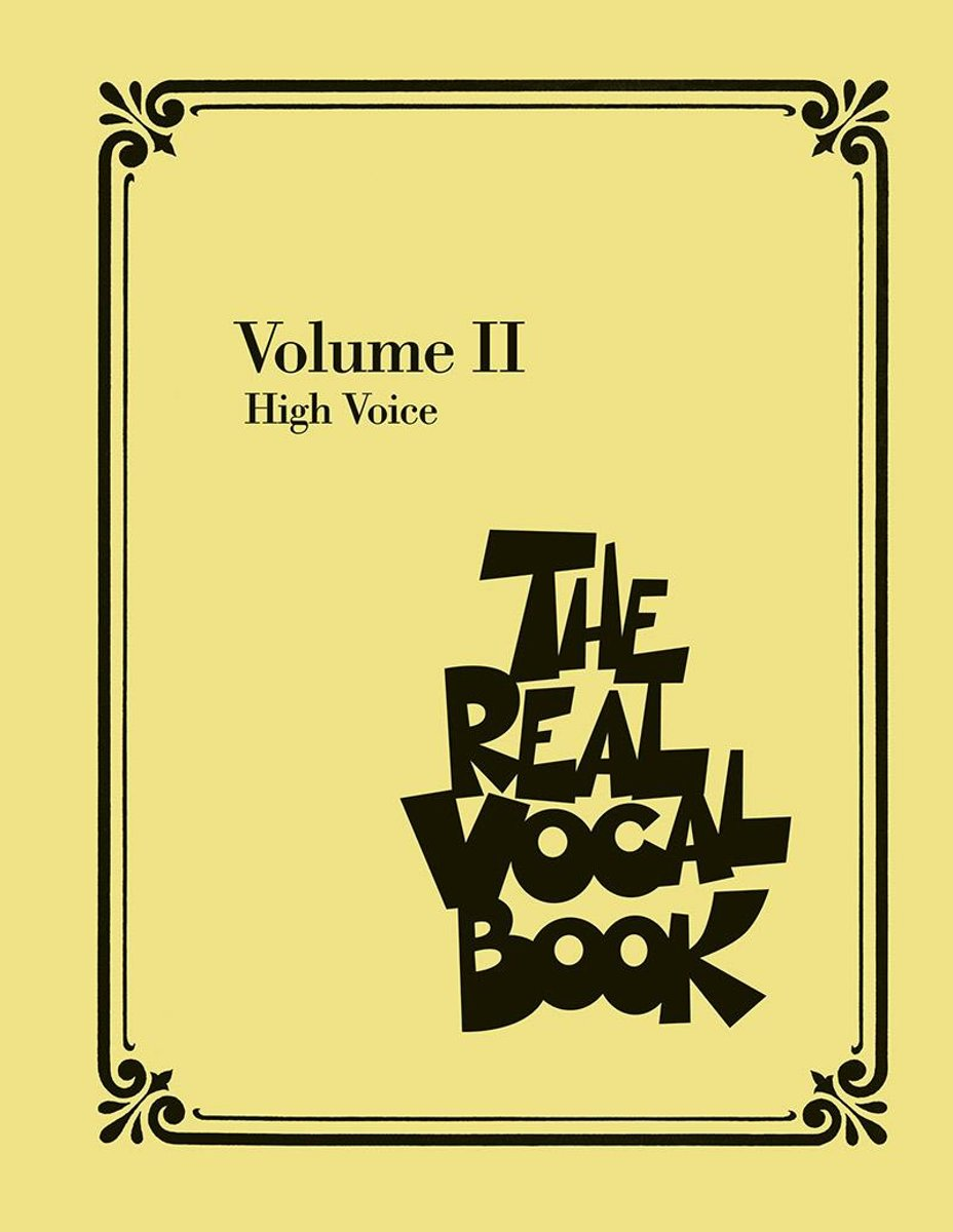 The Real Vocal Book - Volume II (Songbook)