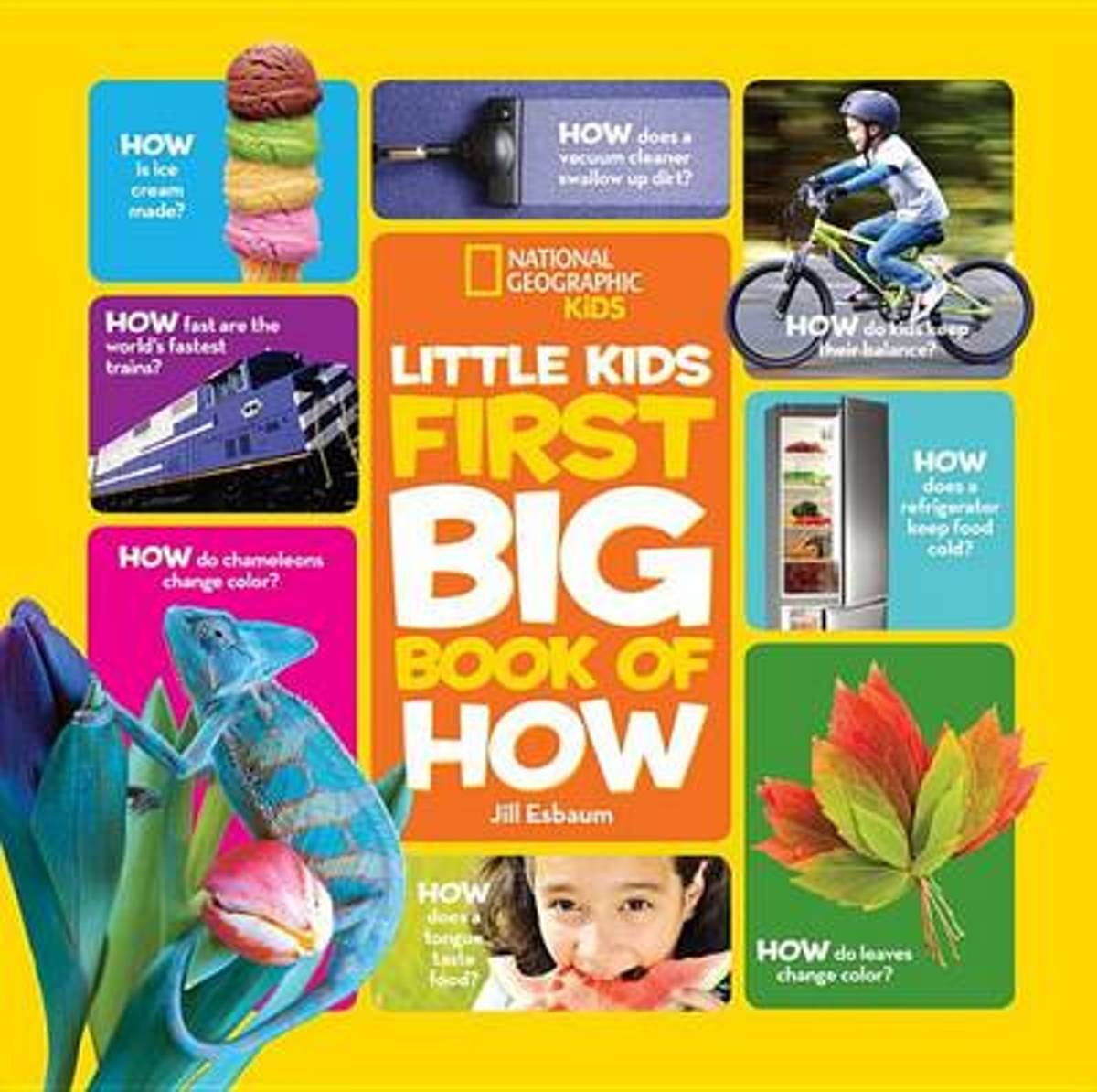 Nat Geo Little Kids First Big Book Of How