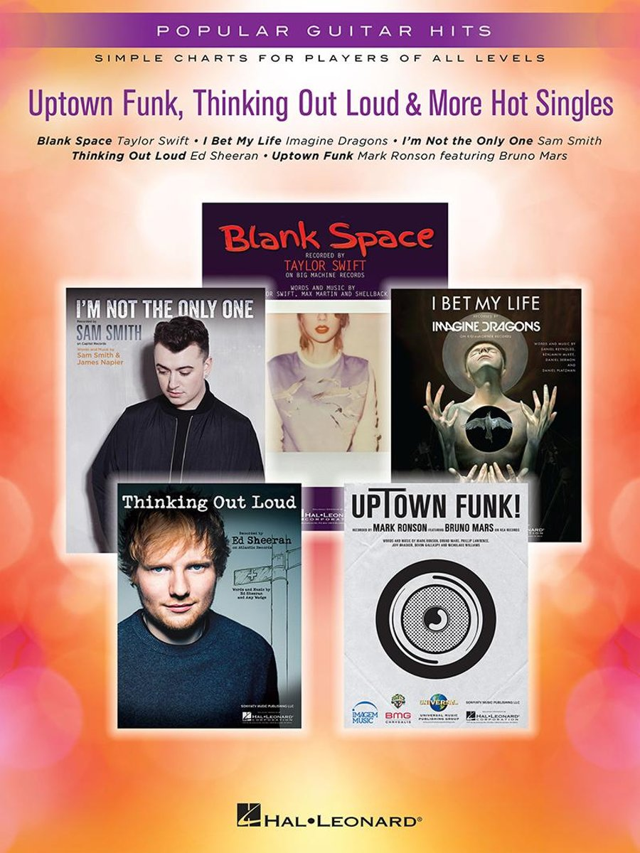 Uptown Funk, Thinking Out Loud & More Hot Singles Songbook