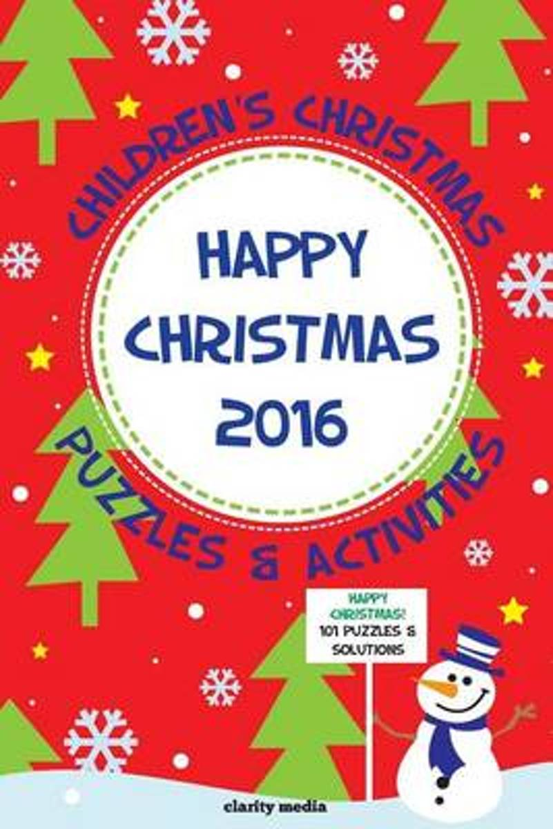 Children's Christmas Puzzles & Activities