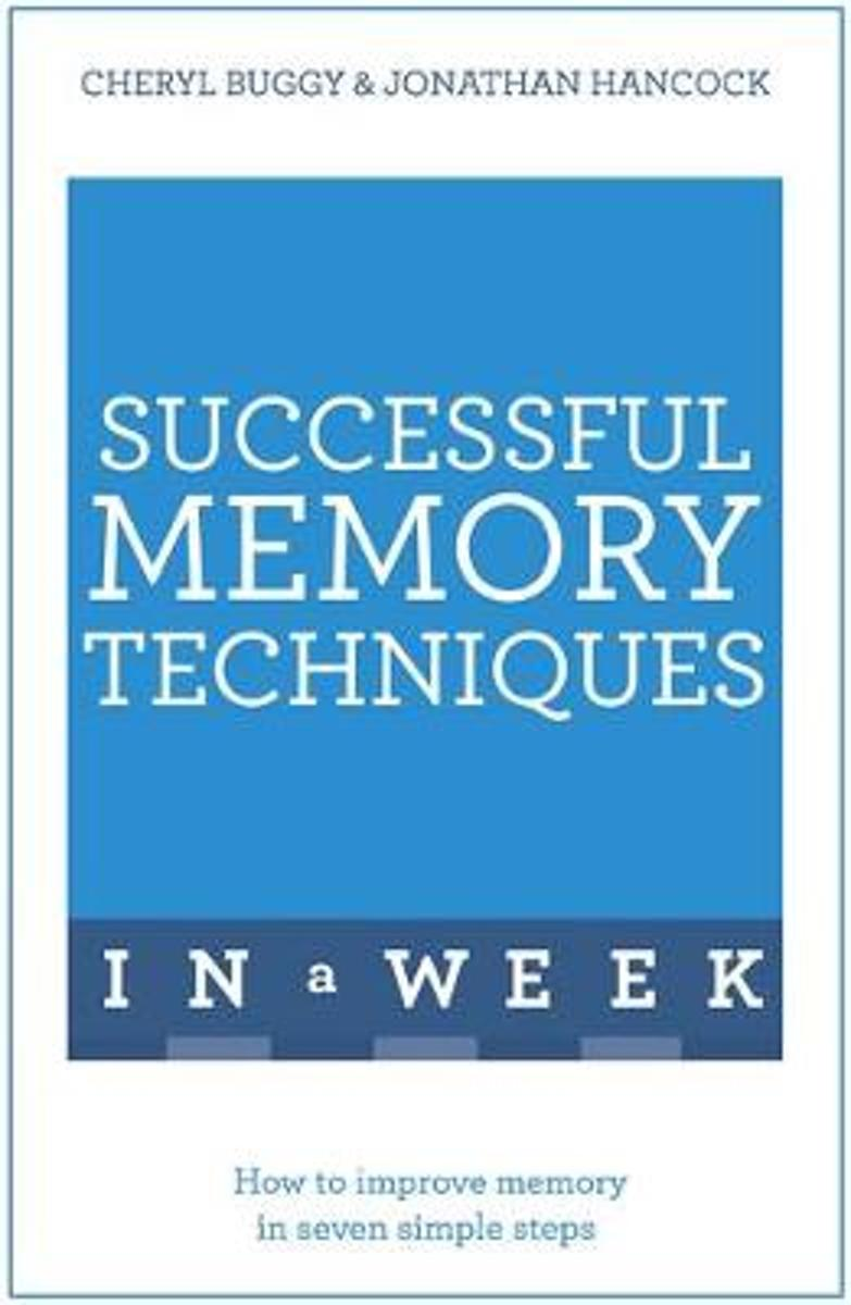 Successful Memory Techniques In A Week