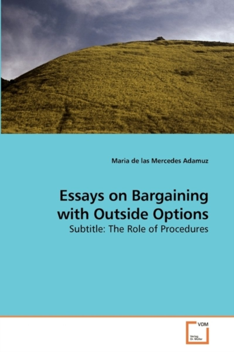 Essays on Bargaining with Outside Options