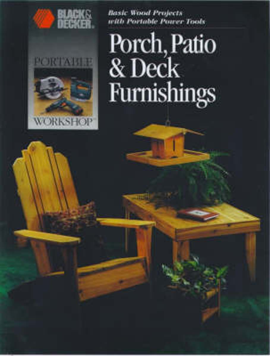 Porch, Patio and Deck Furnishings