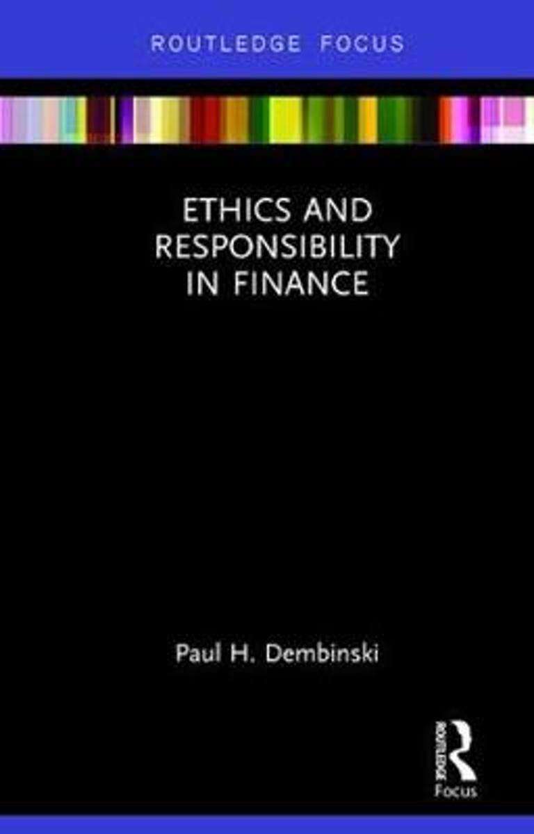 Ethics and Responsibility in Finance