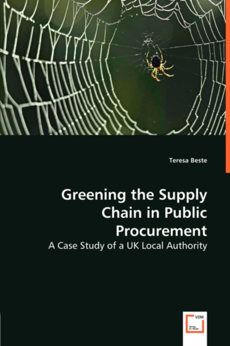 Greening the Supply Chain in Public Procurement