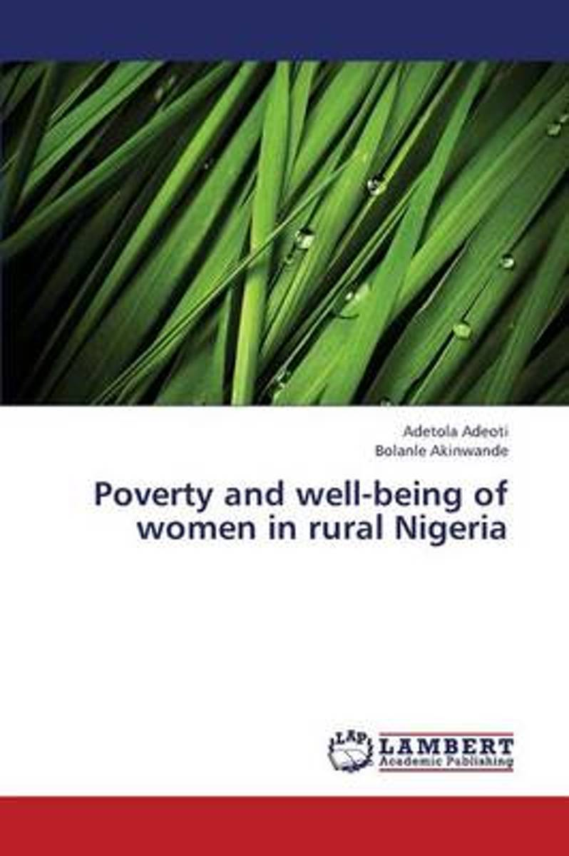 Poverty and Well-Being of Women in Rural Nigeria