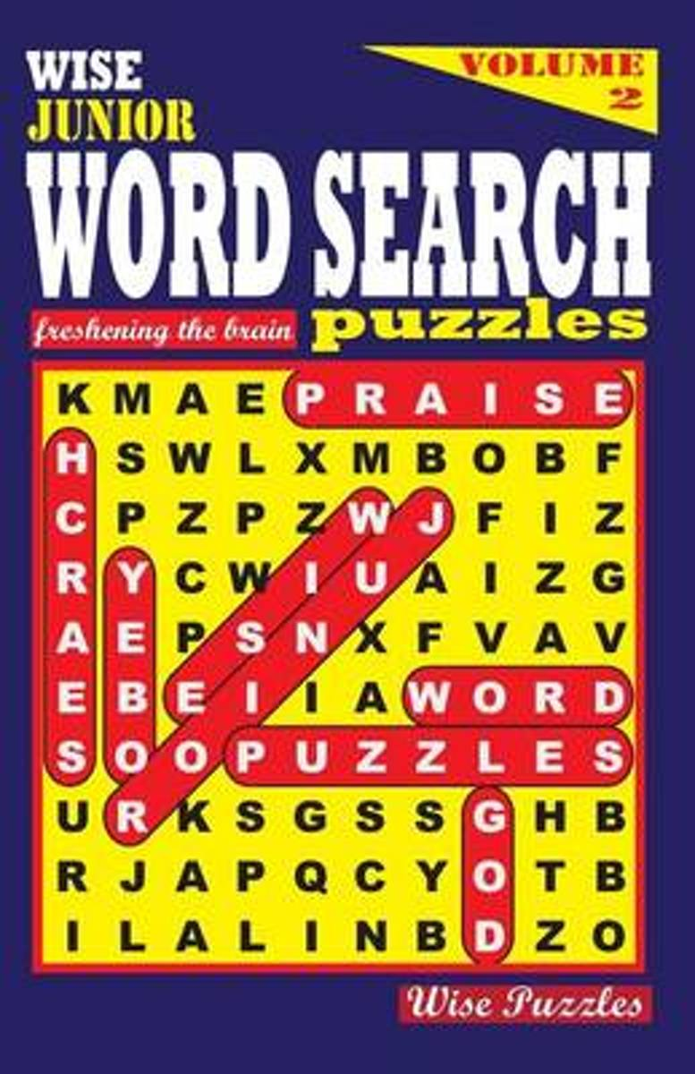 Wise Junior Word Search Puzzles, Volume 2