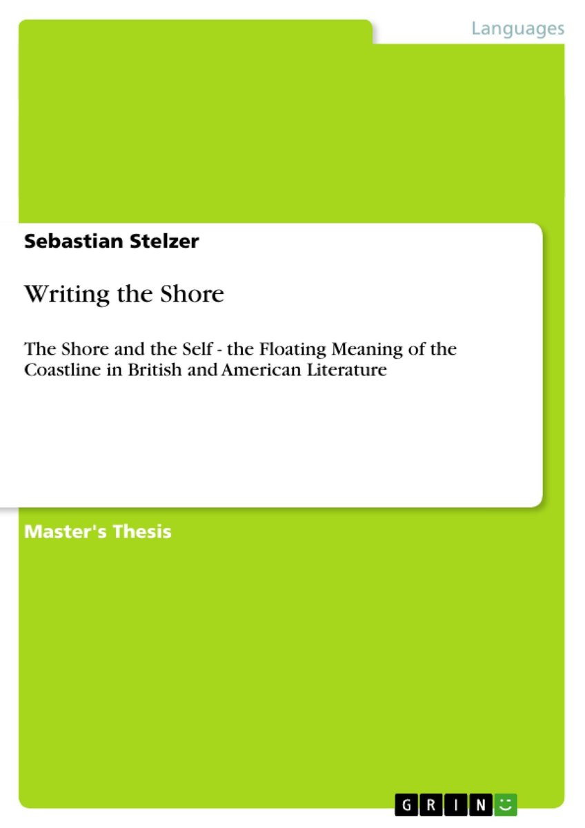 Writing the Shore