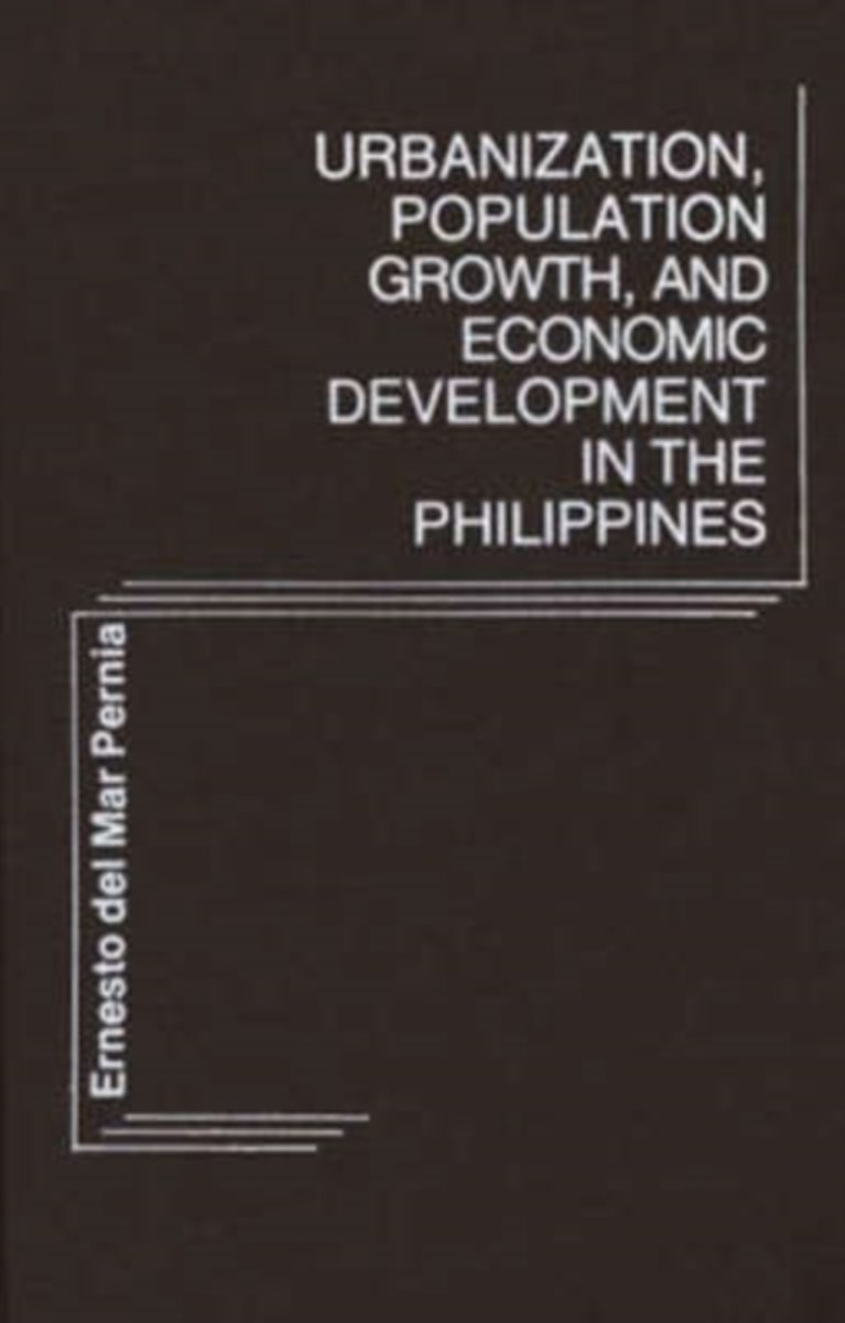 Urbanization, Population Growth, and Economic Development in the Philippines.