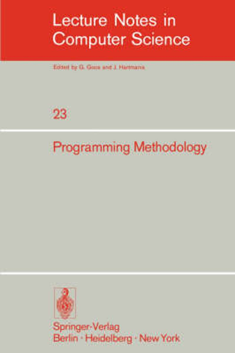 Programming in Methodology