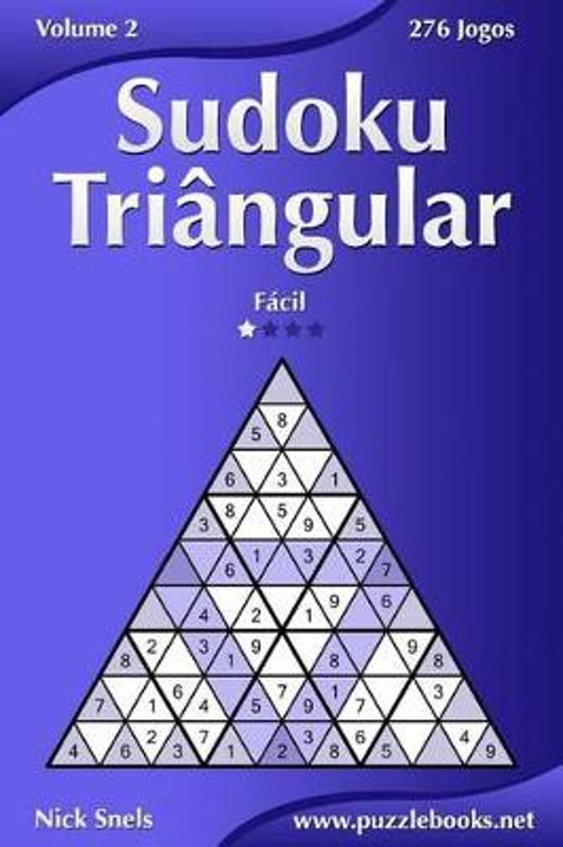 Sudoku Triangular - Facil - Volume 2 - 276 Jogos