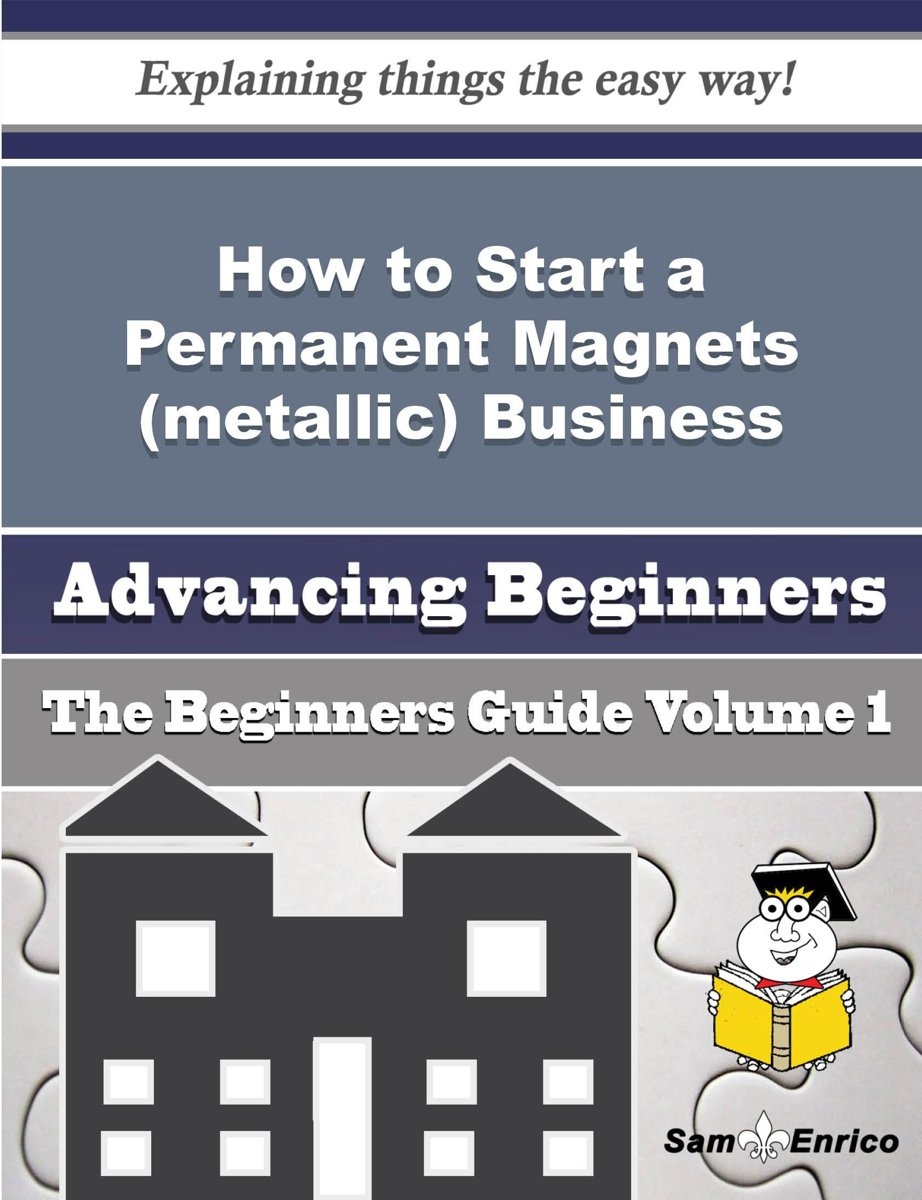 How to Start a Permanent Magnets (metallic) Business (Beginners Guide)