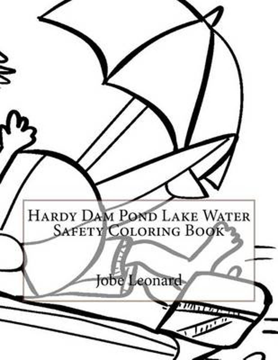 Hardy Dam Pond Lake Water Safety Coloring Book