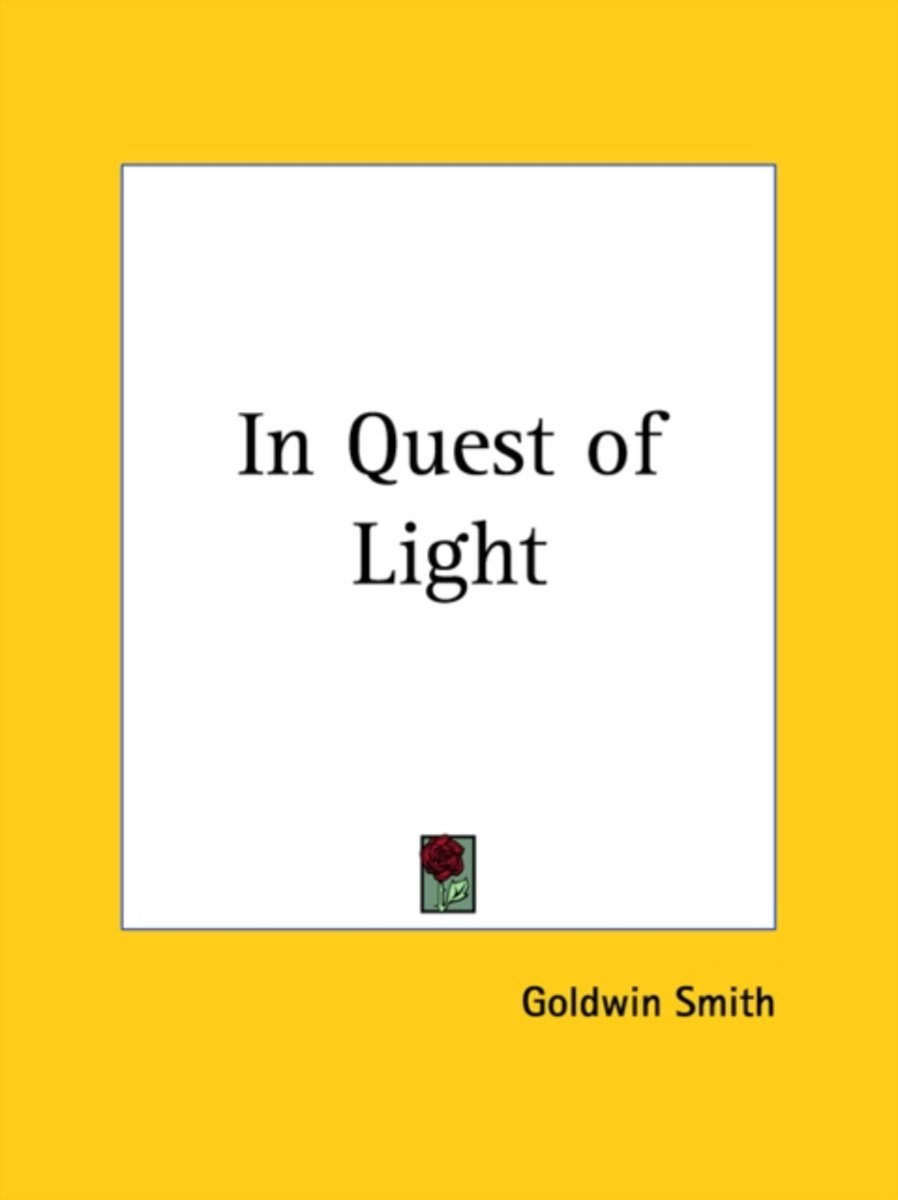 in Quest of Light (1906)