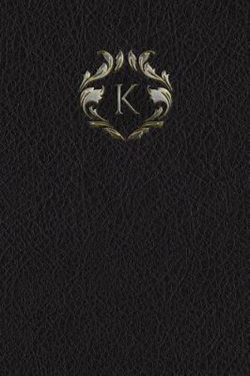Monogram K Any Day Planner Journal