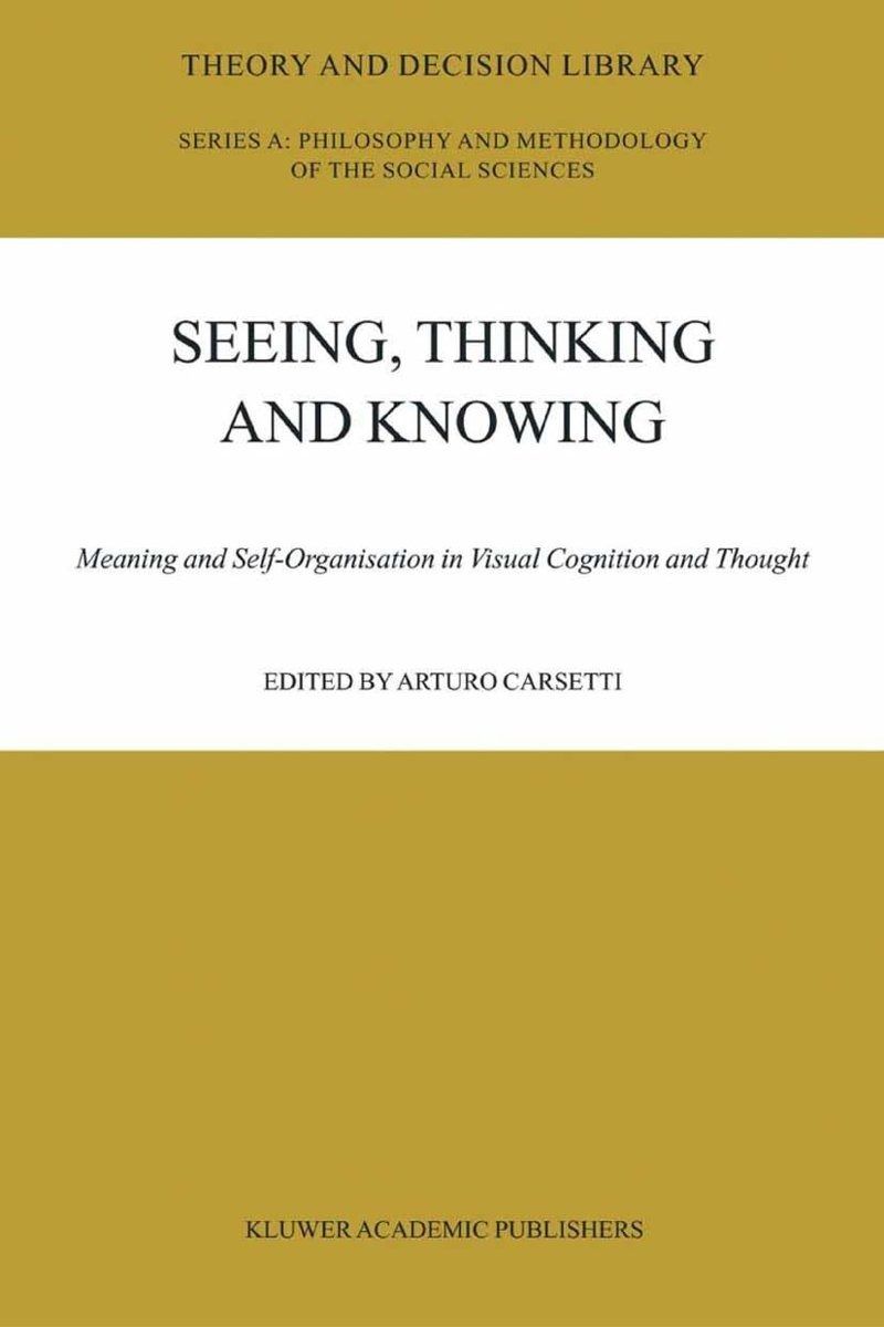 Seeing, Thinking and Knowing