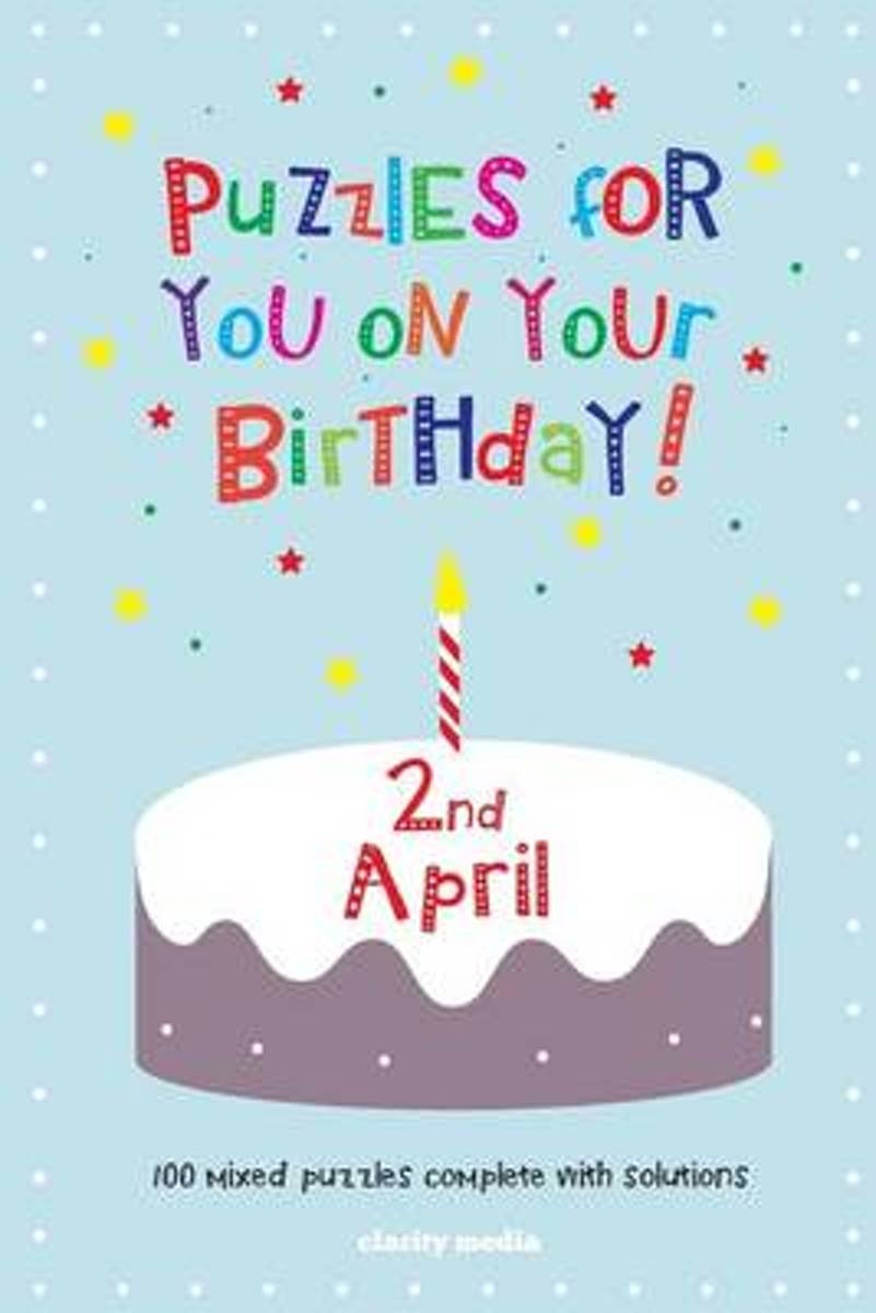 Puzzles for You on Your Birthday - 2nd April