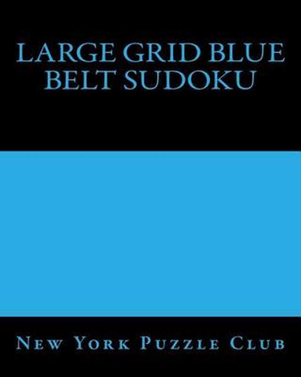 Large Grid Blue Belt Sudoku
