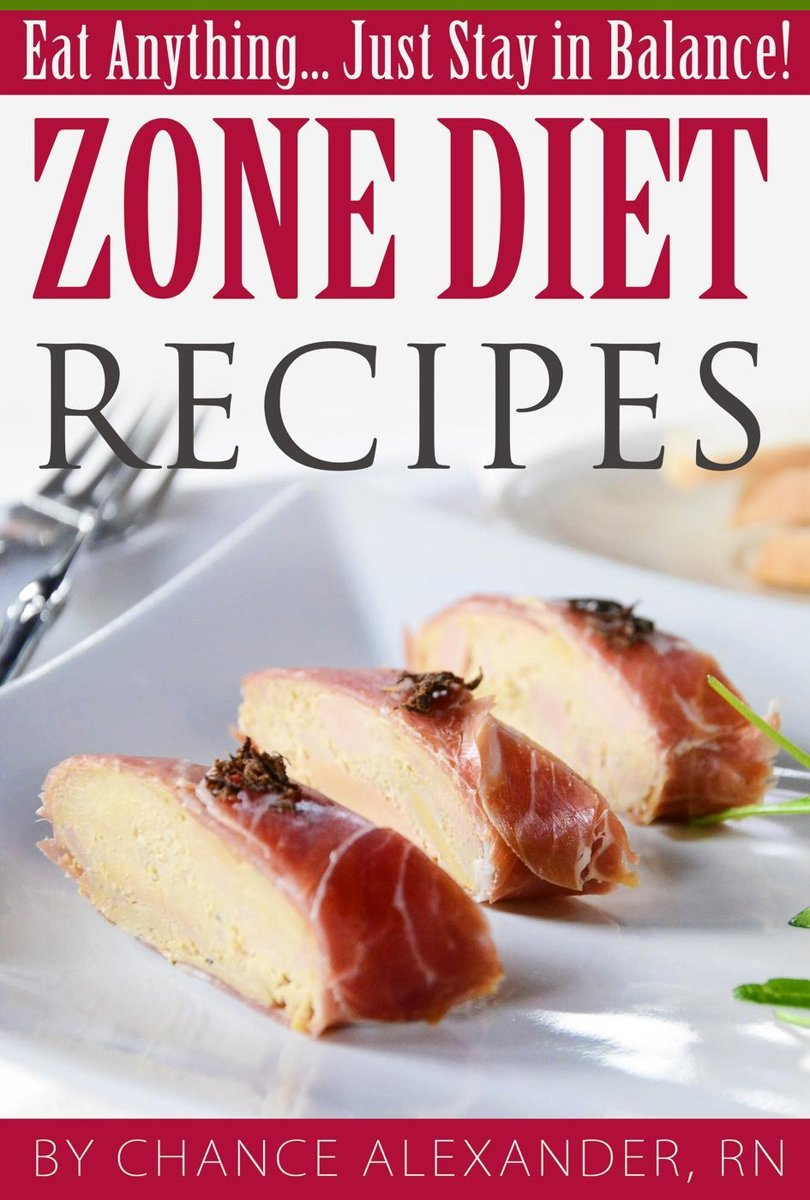 Zone Diet Recipes: Eat Anything... Just Stay in Balance!