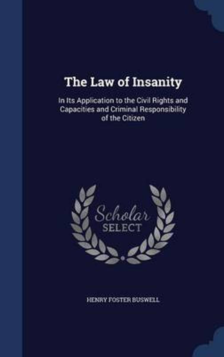 The Law of Insanity