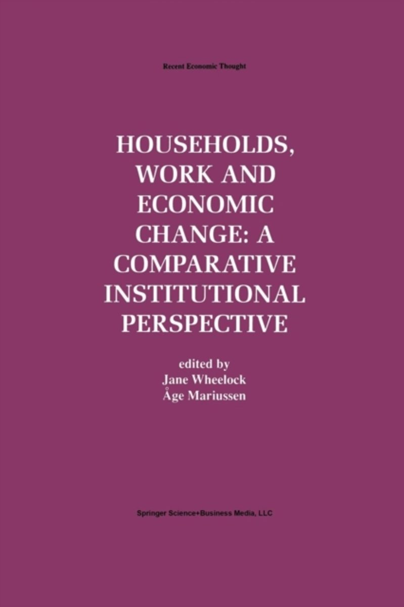 Households, Work and Economic Change