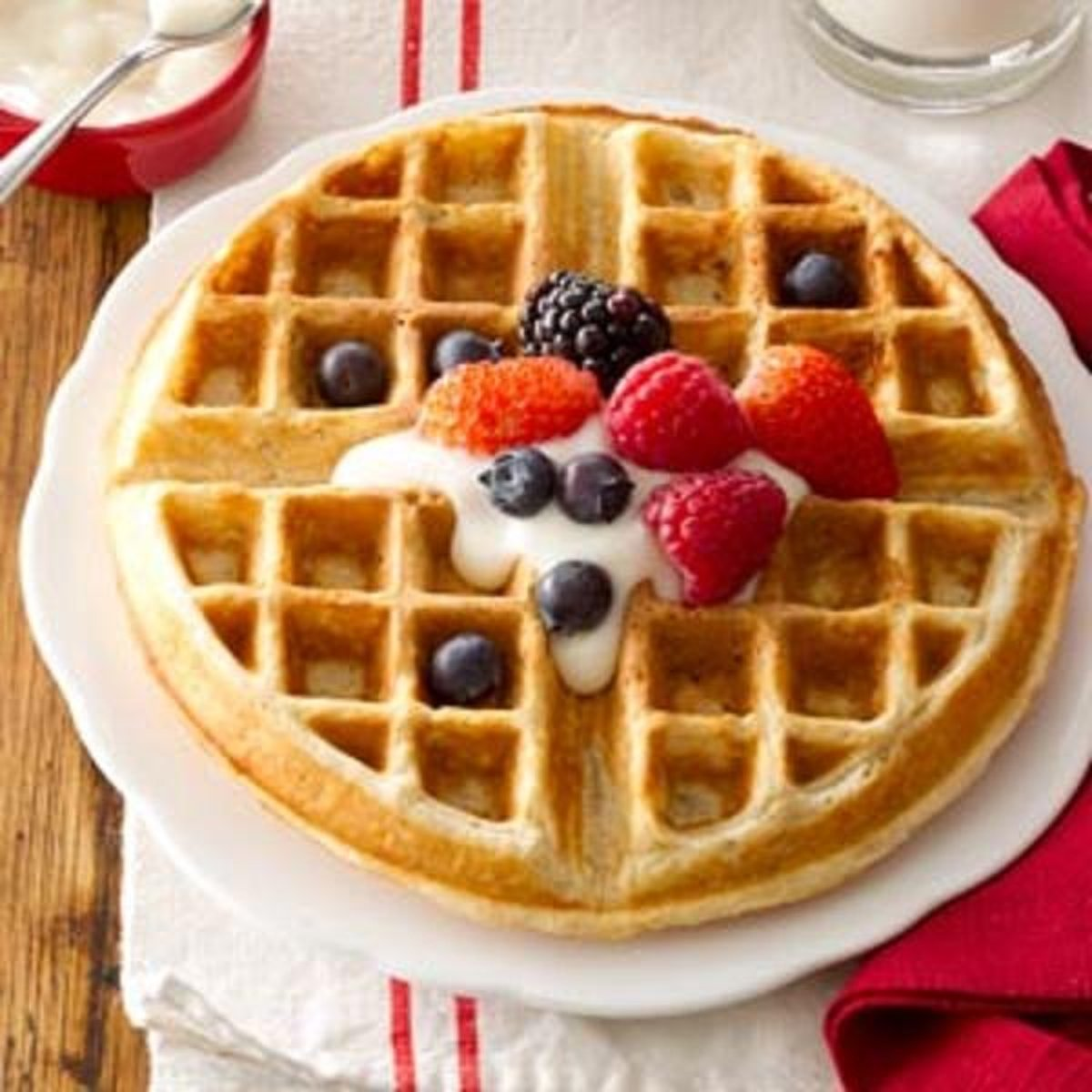 The Waffle Cookbook - 85 Recipes