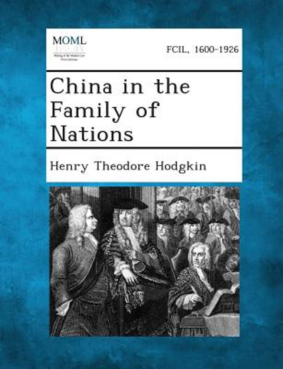 China in the Family of Nations image