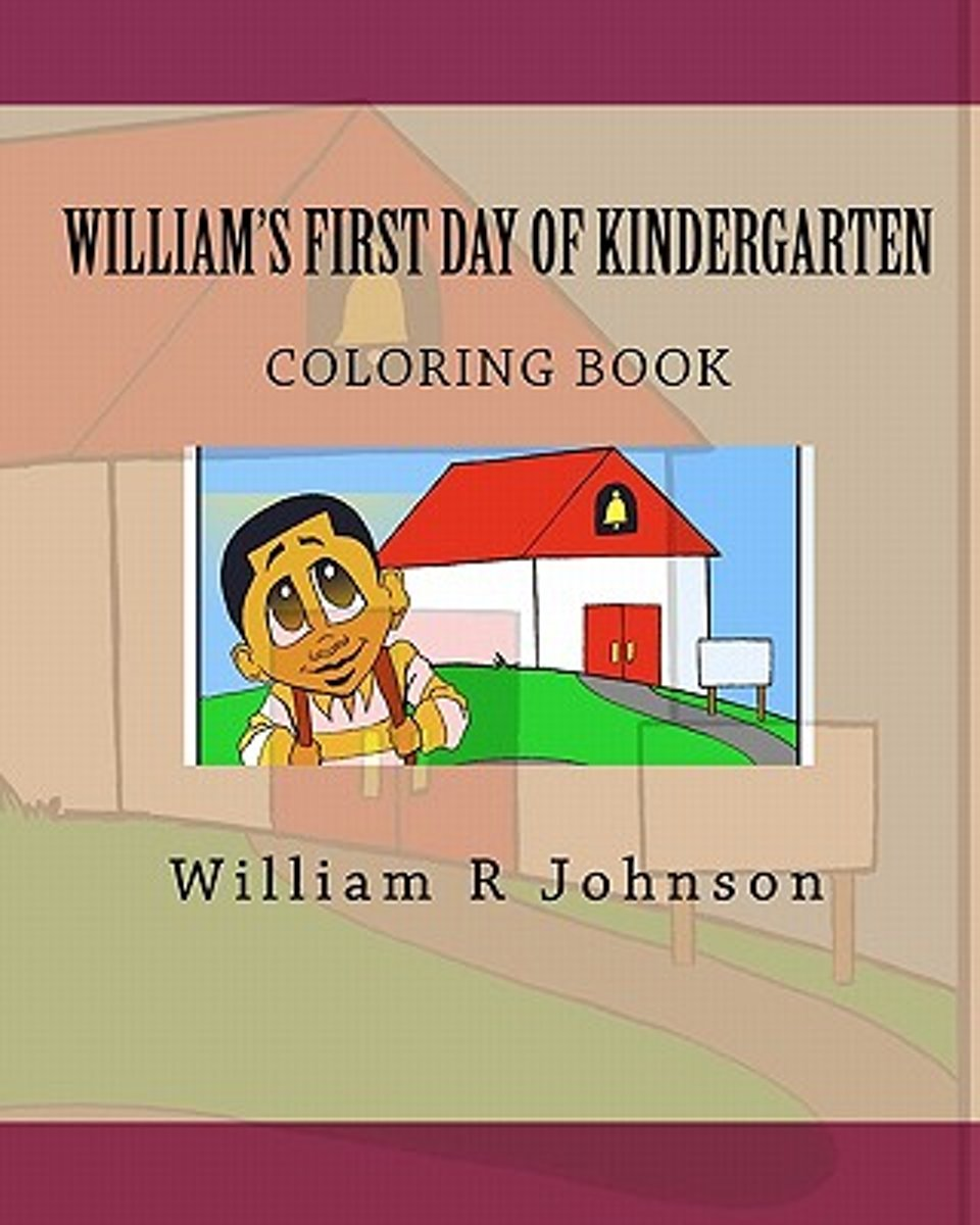William's First Day of Kindergarten (Coloring Book)